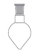 Taper Shape Flask, one neck, DIN 12383 / ISO 1773