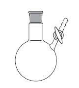 Nitrogen round bottom flask
