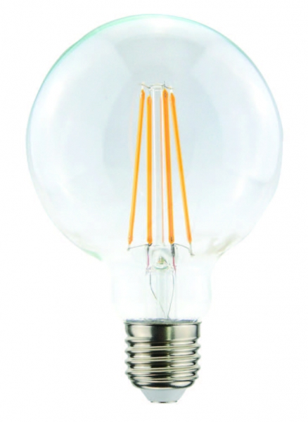 LED filament 4 watts clear DM 125 mm 2700° Kelvin