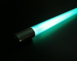 Deco Neon Light Stick 177,5 cm / 69.88 inch, mint green, 110V US plug