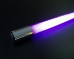 Deco Neon Light Stick 177,5 cm / 69.88 inch, violet, 110V US plug