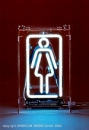 WOMAN - Damen Symbol Neondisplay