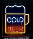 COLD-BEER - Neondisplay